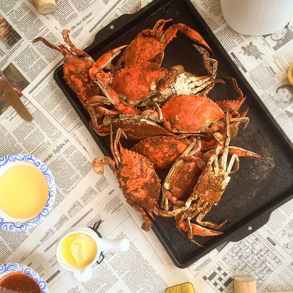 Summer Saturdays in Maryland means crabs and friends And ofhellip